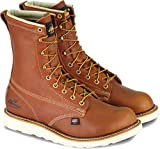 "Thorogood American Heritage 8"" Plain Toe Boot, Tobacco Gladiator, 13 D US"
