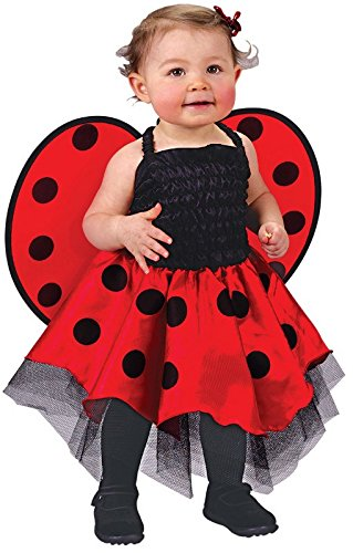 Ladybug Costume Baby One Size Fits Up To 24 Months -