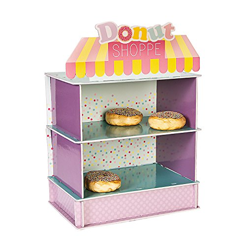 Fun Express - Donut Party Treat Stand for Birthday - Party Supplies - Serveware & Barware - Misc Serveware & Barware - Birthday - 1 Piece -