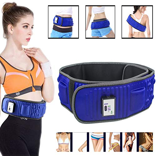 Slimming Belt Electric Vibrating Slimming Belt Electric Weight Lose Magnet Belt Massage Waist Slimming Exercisewaist/Back/Buttocks/arms/Legs/Thighs/Shoulders/Belly Fat Burning Heating Abdo