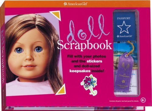 Doll Scrapbook (American Girl Library) (March 1, 2007) Hardcover-spiral