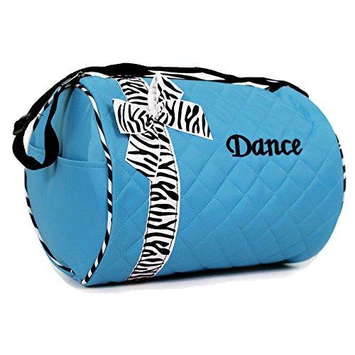 Girls Dance Duffle Zebra Print