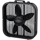 Lasko Fan 20.75 In. Oscillating Black