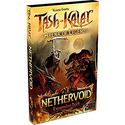 Czech Games Tash-Kalar: Arena of Legends - Nethervoid Expansion Deck: Toys & Games