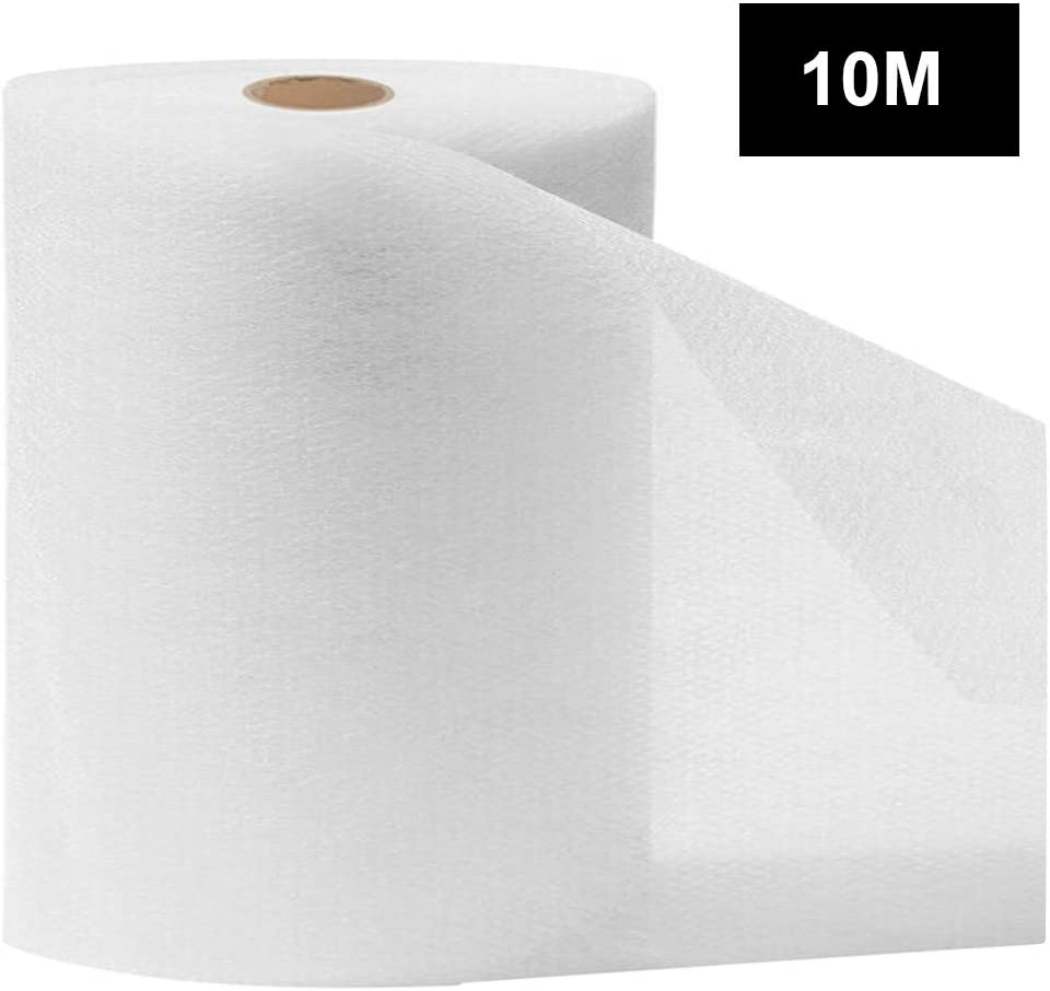 DealinM 10//20//30//40//50//100M Disposable Waterproof Non-Woven Fabric Cloth,95/% Polypropylene Fabric,DIY Handmade Material,Waterproof and Breathable Skin-Friendly and Soft White, 30M
