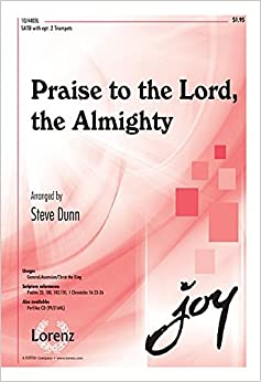 Book Praise to the Lord, the Almighty (Sacred Anthem, SATB, Piano)