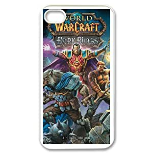 IPhone 4,4S Phone Case for Classic Game World of Warcraft Theme pattern design GCGWDWC926931