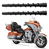 2 Pack 7 inch Spiral Antenna for 1989-2019 Harley Davidson Touring Electra Road Street Glide Trike Ultra Classic CVO