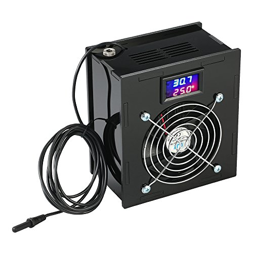 KKmoon Aquarium Thermostat Chiller Temperature Control 70W Fish Tank Salt Or Fresh Water - Aquarium Water Chiller