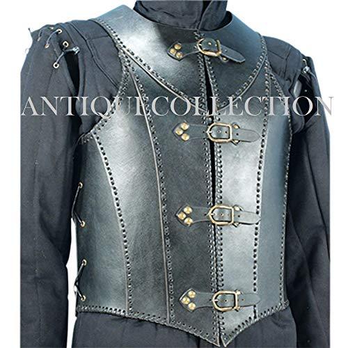 Veterans Leather Body Armour (Black) ()