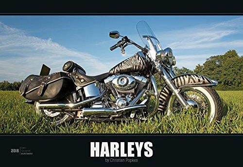 Harleys 2018 - Bildkalender quer (50 x 34) - Technikkalender - Fahrzeuge