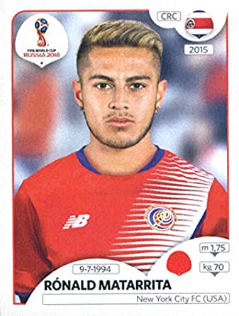 2018 panini world cup stickers russia 400 ronald matarrita costa rica soccer sticker