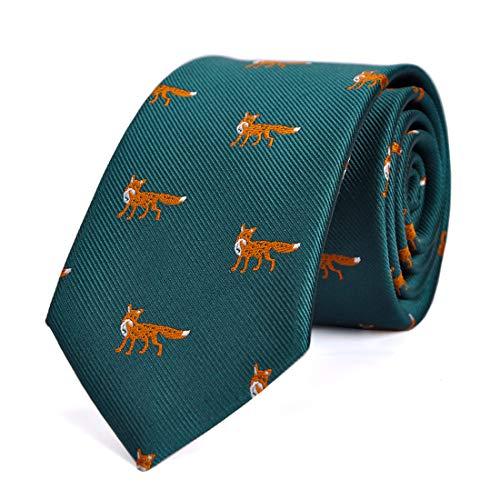 - LUISDAN Stripe Tie Jacquard Woven Microfiber Formal 2.75