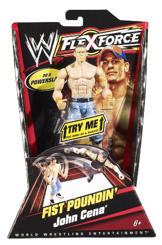 Mattel WWE Flexforce Fist Poundin' John Cena with Orange Armband