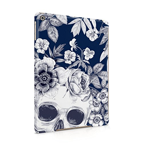 Tropical Floral Dead Pirate Skull Indie Hype Hipster Tumblr Plastic Tablet Snap On Back Case Cover Shell For iPad Air 1