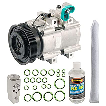 OEM AC Compressor w/A/C Repair Kit For Hyundai Santa Fe 2001-2006 -  BuyAutoParts 60-83024RN NEW