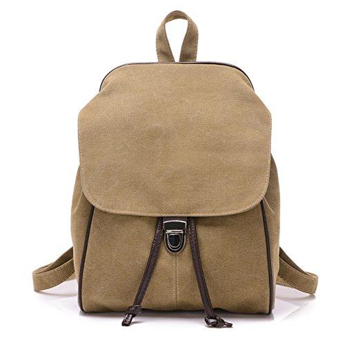 mochila/Versión coreana de la mochila de lona/Bolsa de viento de la Universidad/Bolso de la lona/Bolso retro-C B