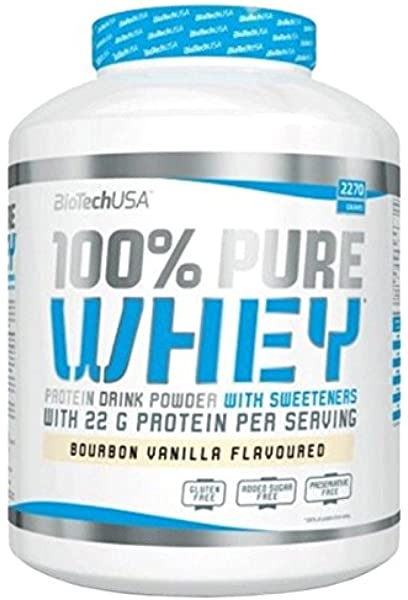 Biotech USA 100% PURE WHEY - chocolate - 1kg: Amazon.es ...