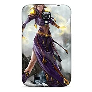 Tpu MeSusges Shockproof Scratcheproof Magic Woman Hard Case Cover For Galaxy S4 by icecream design