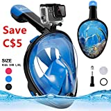 Best Diving Masks - Snorkeling Mask Snorkel Mask Full Face Diving Mask,180° Review