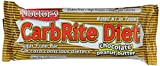Universal Nutrition Gluten Free, Sugar Free, Doctor's CarbRite Diet Protein Bar Chocolate Peanut Butter 2 oz bar 12 Count