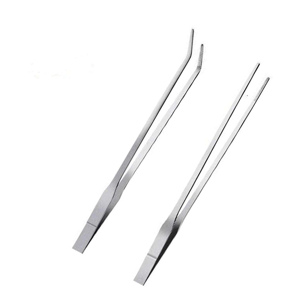 Aquarium Tweezers Stainless Steel Feeding Straight