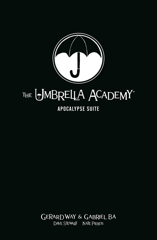 The Umbrella Academy Library Edition Volume 1: Apocalypse Suite (Umbrella Academy: Apocalypse Suite) by Dark Horse Books