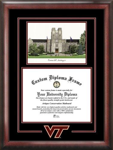 Virginia Diploma Frames - Campus Images