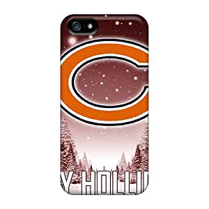 AaronBlanchette Iphone 5/5s Shock Absorption Cell-phone Hard Cover Allow Personal Design Lifelike Chicago Bears Series [Pzt13928rKPk]
