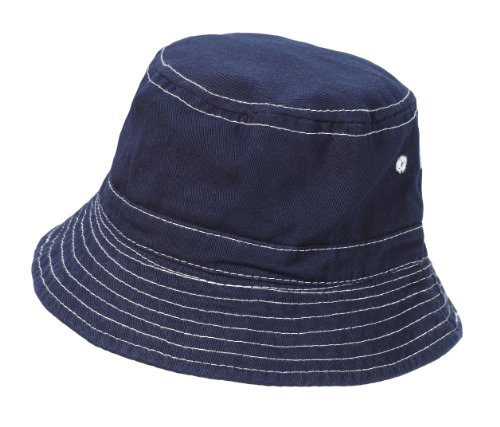 City Thread Unisex Baby Solid Wharf Hat - Navy - M(6-18M)