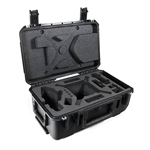 CasePro CP-PHAN2-CO DJI Phantom 2 Vision Quadcopter/GoPro Carry-On Hard Case, Black by ProCase