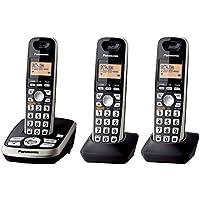 Panasonic KX-TG4223B Expandable Digital Cordless Answering System with 3 Handsets