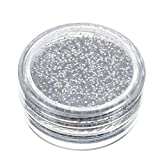 GoodLock (TM) Hot!! Glitter Loose Powder Eyeshadow Silver Eye Shadow Pigment Shimmer Matte Eyes Nail Decor Beauty Sparkly Makeup Cosmetic Shiny Nudes Metallic Eyeliner Blush Durable Pigmented (A)