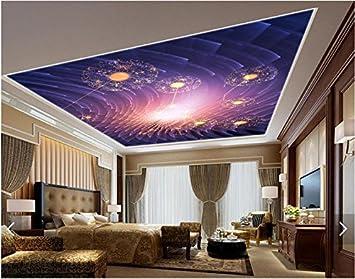 Malilove Fond D Ecran 3d 3d Personnalise Papier Peint Plafond