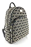 Michael Kors Abbey Large Jet Set Backpack BG / BLK / BLK For Sale