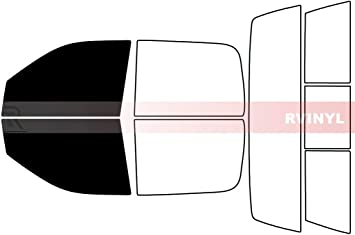 Automotive Window Film Includes: Front Door Window precuts in 15/% Fits: 5th Generation 2019-2020 Ram 1500 Crew Cab Truck Precut Window Tint Kit