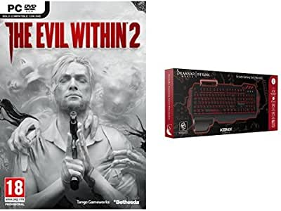 The Evil Within 2 + Konix Bifrost - Teclado semi mecánico, color ...