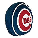 The Northwest Company MLB Chicago Cubs Cloud Logo Pillow, One Size, Multicolor