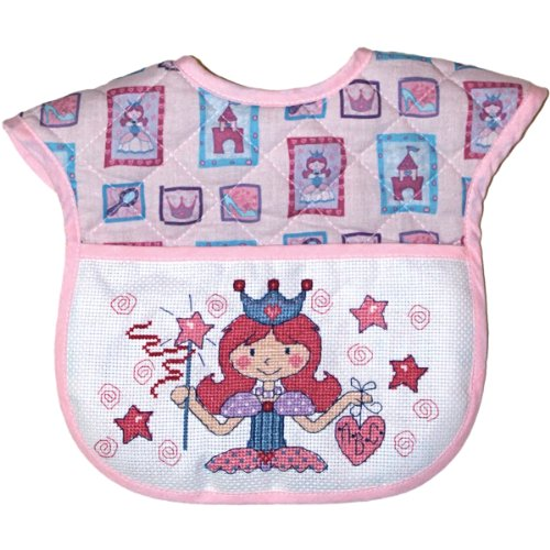 DMC BB4992EA-4602 Bib Baby Quilt, Princess