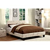 Furniture of America Voyager Upholstered Platform Bed, Queen