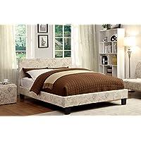 Furniture of America Voyager Upholstered Platform Bed, Queen
