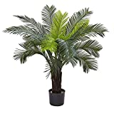 Nearly Natural Cycas Indoor/Outdoor UV Resistant Tree, 3'