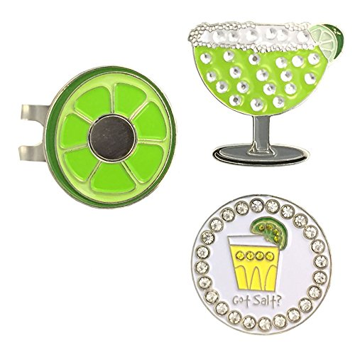 Giggle Golf Bling Margarita & Got Salt Ball Marker Two Pack ()