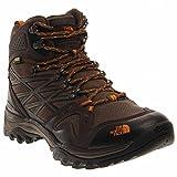 The North Face Men's Hedgehog Fastpack Mid Gore-TEX Hiking Shoe Shroom Brown/Orange Size 9.5 M US