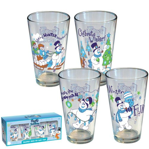 ICUP Frosty Winter 4-Pack Pint Set