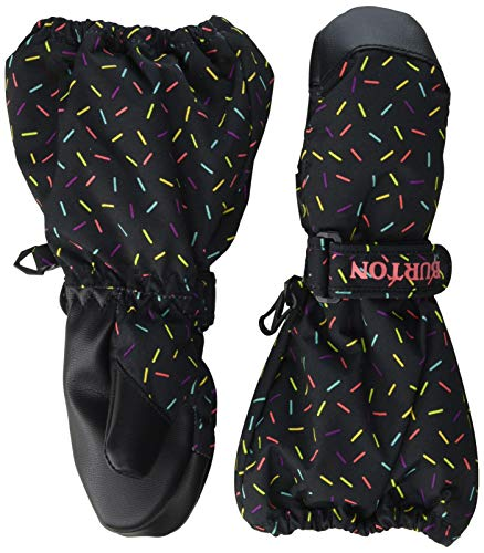 Burton Toddler Kids Heater Mitten, Sprinkles, 6T (Burton Womens Snowboard Mittens)