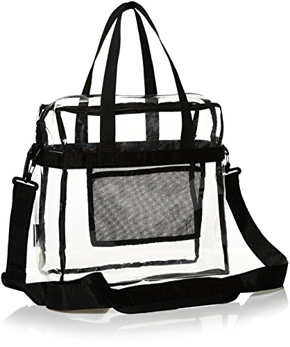 AmazonBasics ZH1703334R2 Stadium Approved Tote Clear product image