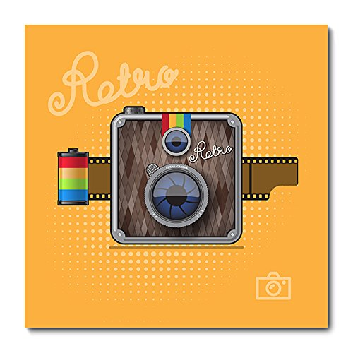 Placa Decorativa - Câmera Fotográfica - 1052plmk