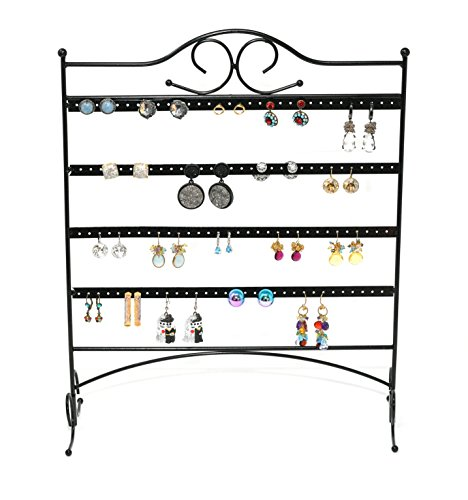 (ARAD Metal Jewelry Tree, Holder Organizer-Hanging Jewelry Display for Earrings & Other Piercings)