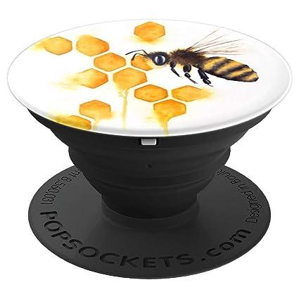 Amazon.com: Bonito diseño de abeja de abeja amarilla con ...